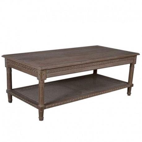 RECTANGLE COFFEE TABLE OAK WASH