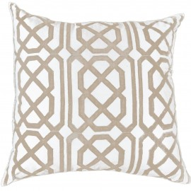 JAGGER PRINT BEIGE LOUNGE CUSHION