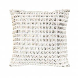 SHELL KAURI WHITE MEDIUM CUSHION
