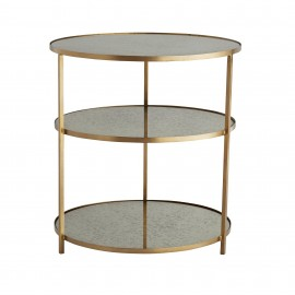 PERCY SIDE TABLE BRASS
