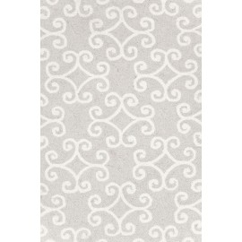 SCROLL PLATINUM RUG