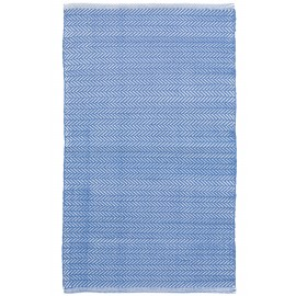 HERRINGBONE FRENCH BLUE RUG
