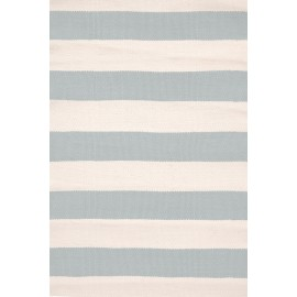 CATAMARAN STRIPE LIGHT BLUE/IVORY RUG