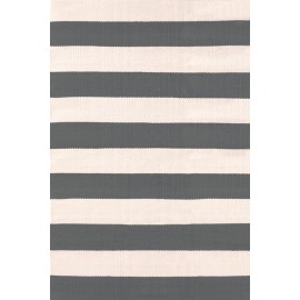 CATAMARAN STRIPE GRAPHITE/IVORY RUG