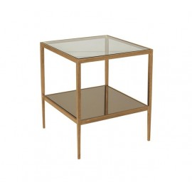 BOYD BLUE LE FORGE SIDE TABLE