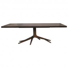 BOYD BLUE FIFTH AVENUE DINING TABLE - BRASS