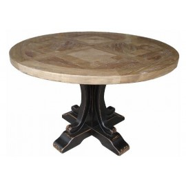 ZODIAC DINING TABLE BLACK BASE