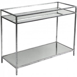 COCKTAIL DRINKS TABLE - SILVER LEAF