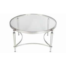 RENEE COFFEE TABLE NICKEL