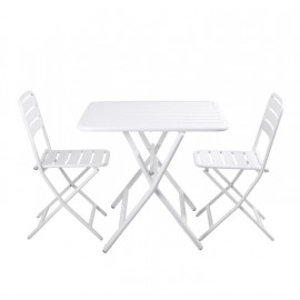 PIXIE FOLDING TABLE & CHAIRS - 3 PIECE