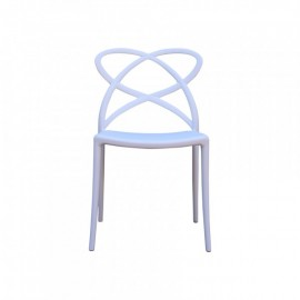 AERIAL STACKABLE ARMLESS CHAIRS
