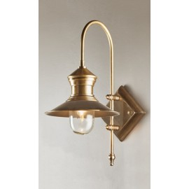 CENTRAL WALL LAMP IN ANTIQUE BRASS