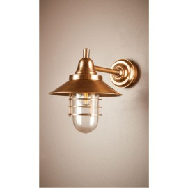 COOKE WALL LAMP ANTIQUE BRASS