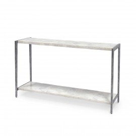 BOYD BLUE PRESTON MARBLE CONSOLE TABLE
