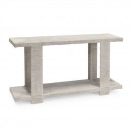 BOYD BLUE CLINT CONSOLE TABLE - WHITE SAND