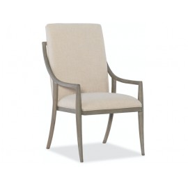 HOOKER FURNITURE DINING ROOM AFFINITY HOST CHAIR - 2 PER CARTON/PRICE EA