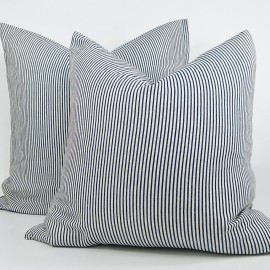 AVA PINSTRIPE CUSHION
