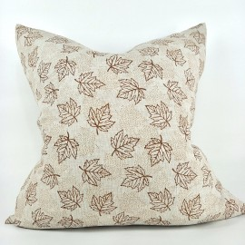 MAPLE LINEN CUSHION - 50cm